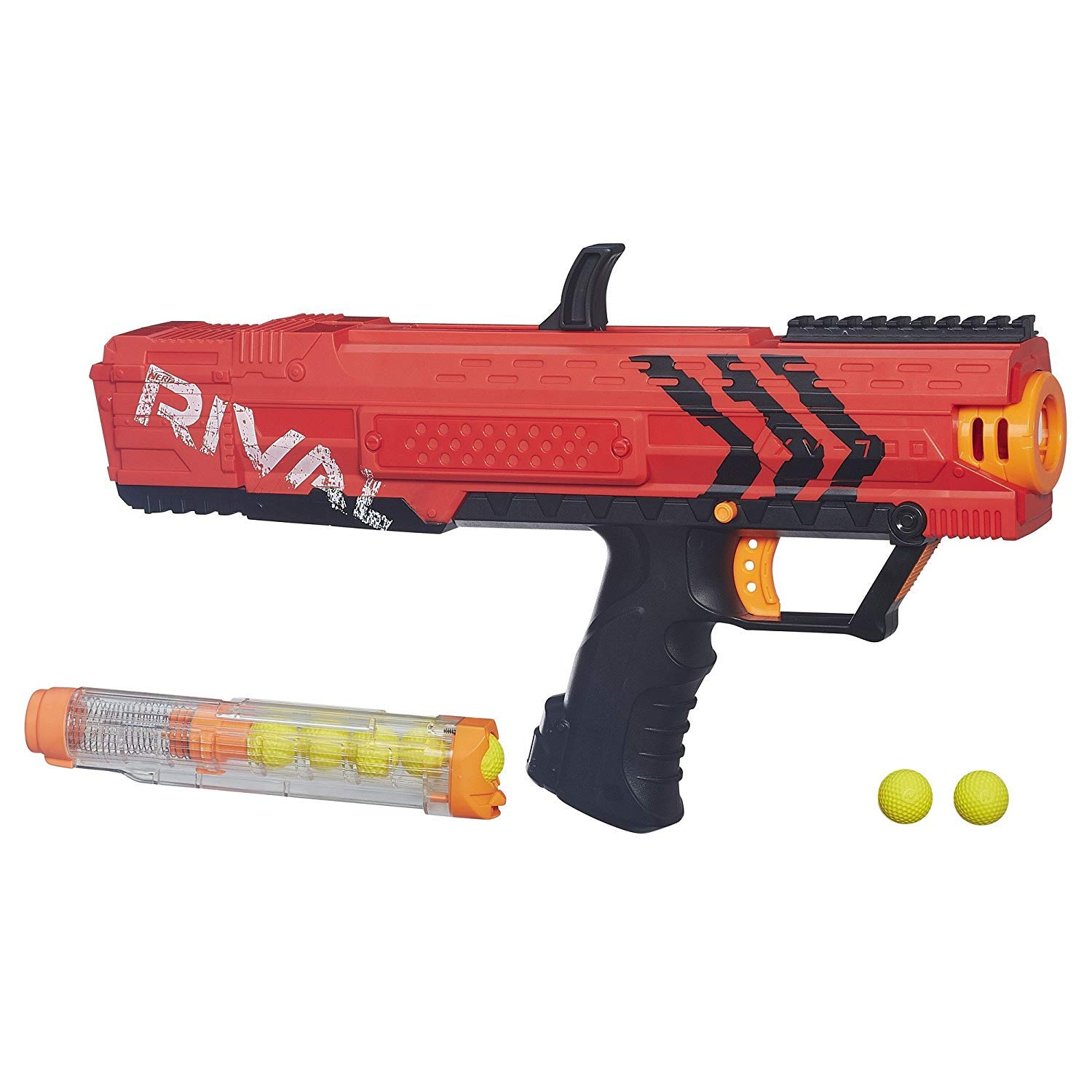 NERF Rival Apollo XV 700 Red/Blue with 2-100 Packs of Ammo - Bundle by NERF (Image #3)