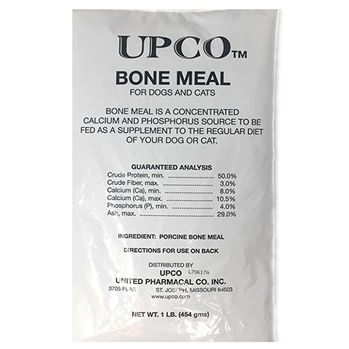 bone meal for dogs. Amazon.com : Bone Meal Steamed Powder For Dogs And Cats 2 Pack Total Pounds From Upco Made In USA Pet Supplies N