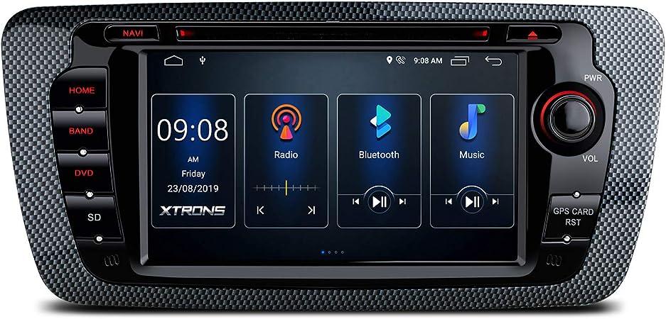 Xtrons 7 Android 10 0 Autoradio Mit Touchscreen Quad Elektronik