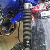 Polisport Fork Boots Black for Yamaha TTR250 1999-2006
