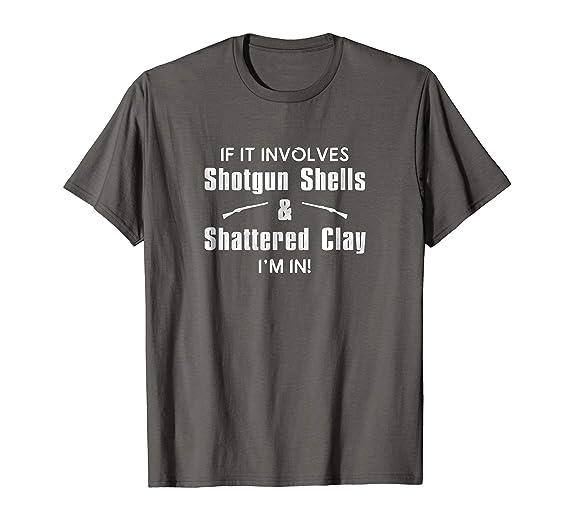 11be6184e Mens Skeet Shooting Trap Shattered Sporting Clays T Shirt 2XL Asphalt