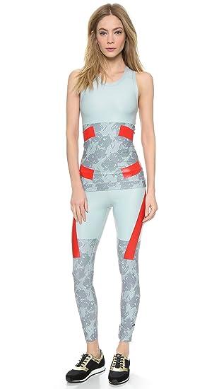 d81d3465b3286 Adidas By Stella McCartney Techfit Set Run Tights & Compression Tank Vest -  XS