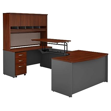 amazon com bush business furniture series c 60w x 43d left hand 3 rh amazon com bush series c office furniture