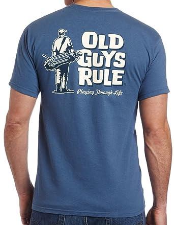 Old Guys Rule T-shirt Golfing Playing Through