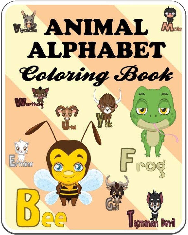Cute animal coloring books for toddlers preschool kid 2 4 boys or girls paperback april 4 2018