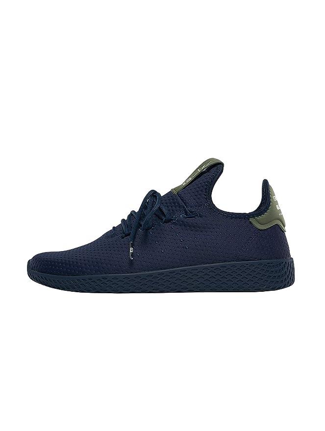 adidas Originals Pharrell Williams Tennis HU Sneaker dunkelblau, 12 UK 47 13 EU 12.5 US