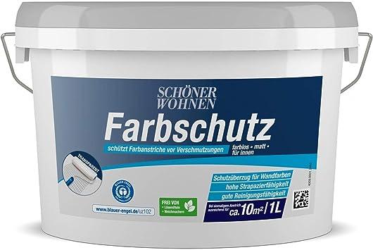 Farbschutz Transparent Matt 1 L Schoner Wohnen Amazon De Baumarkt