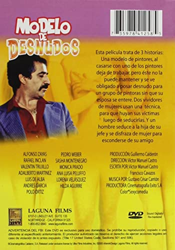 Amazon.com: Modelo de Desnudos: Luis de Alba, Sasha Montenegro, Polo Ortin, Alfonso Zayas, Valentin Trujillo, Andrés García, Victor Manuel
