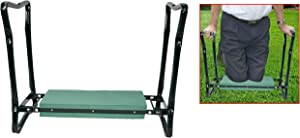 Home-X Foldable Garden Kneeler and Seat for Gardening, Camping, and More