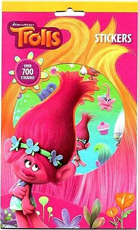 Anker TRSTR Pegatinas, diseño de troles, 700 Unidades: Amazon.es: Juguetes y juegos