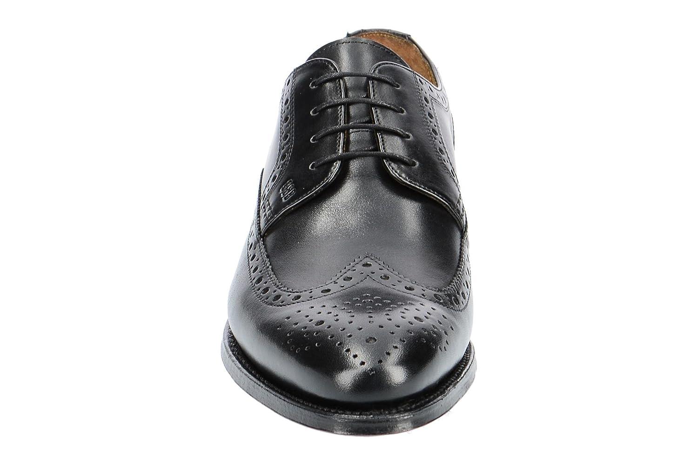 Gordon   Bros 5093-J Negro - Zapatos con con con Cordones de Piel Lisa Hombre 5b1d48
