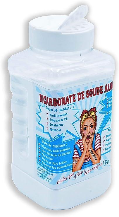 Sac 1KG Bicarbonate de soude DIRNA alimentaire nettoyage domestique Excellente