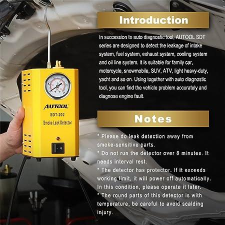 Autool 12 V Auto Evap Detektor Für Autorohre Leck Detektor Sdt 202 Für Alle Fahrzeuge Auto