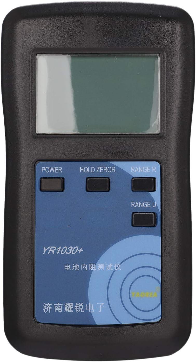 Nrpfell Probador de BateríA YR1030 Prueba de Resistencia Interna para BateríA de Litio BotóN de NíQuel NíQuel Hidruro Instrumento de Prueba de BateríA