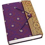 Sari Journal Notebook Large 135 x 180mm -Purple