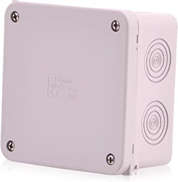 Cajas de empalme de superficie Caja de empalme de cable de 12 polos | IP67 |
