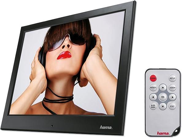 Hama Digitaler Bilderrahmen Slimline Basic 9 7 Zoll Kamera