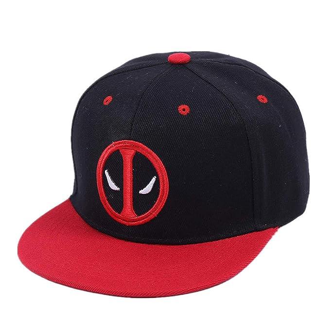 Mageed Anna Deadpool Hip Hop Snapback Summer Cap Hat Baseball Cap for Men Women Gorras Casual Bone at Amazon Womens Clothing store: