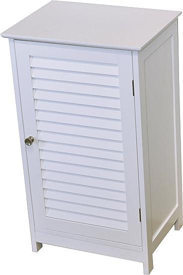 Tendance Schrank fürs Badezimmer - 1 Tür - Kolonial-Stil: Amazon.de ...