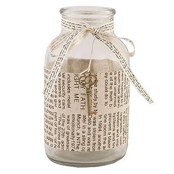 Botella de cristal de la vendimia decoración de la boda del brote del florero de la tela del abrigo de la llave del corazón: Amazon.es: Hogar