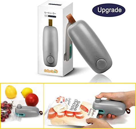 Amazon.com: ColorGo - Sellador de bolsa de patata, mini ...