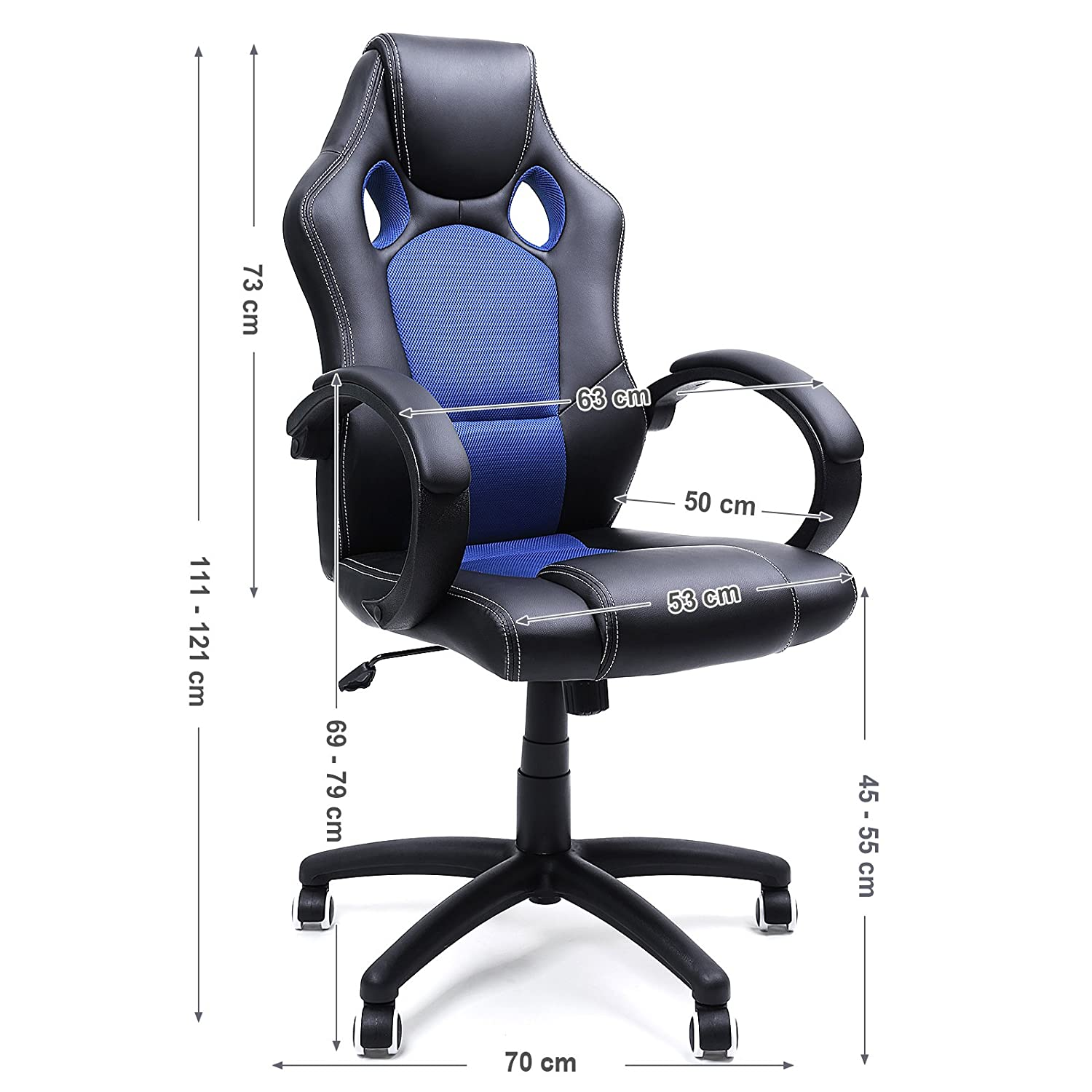 Songmics Racing Sport fice Chair with Tilt Function puter
