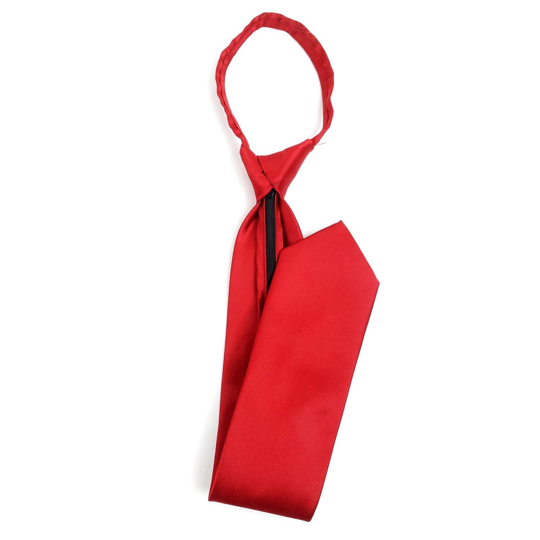 Mens Classic Zipper Tie Gold