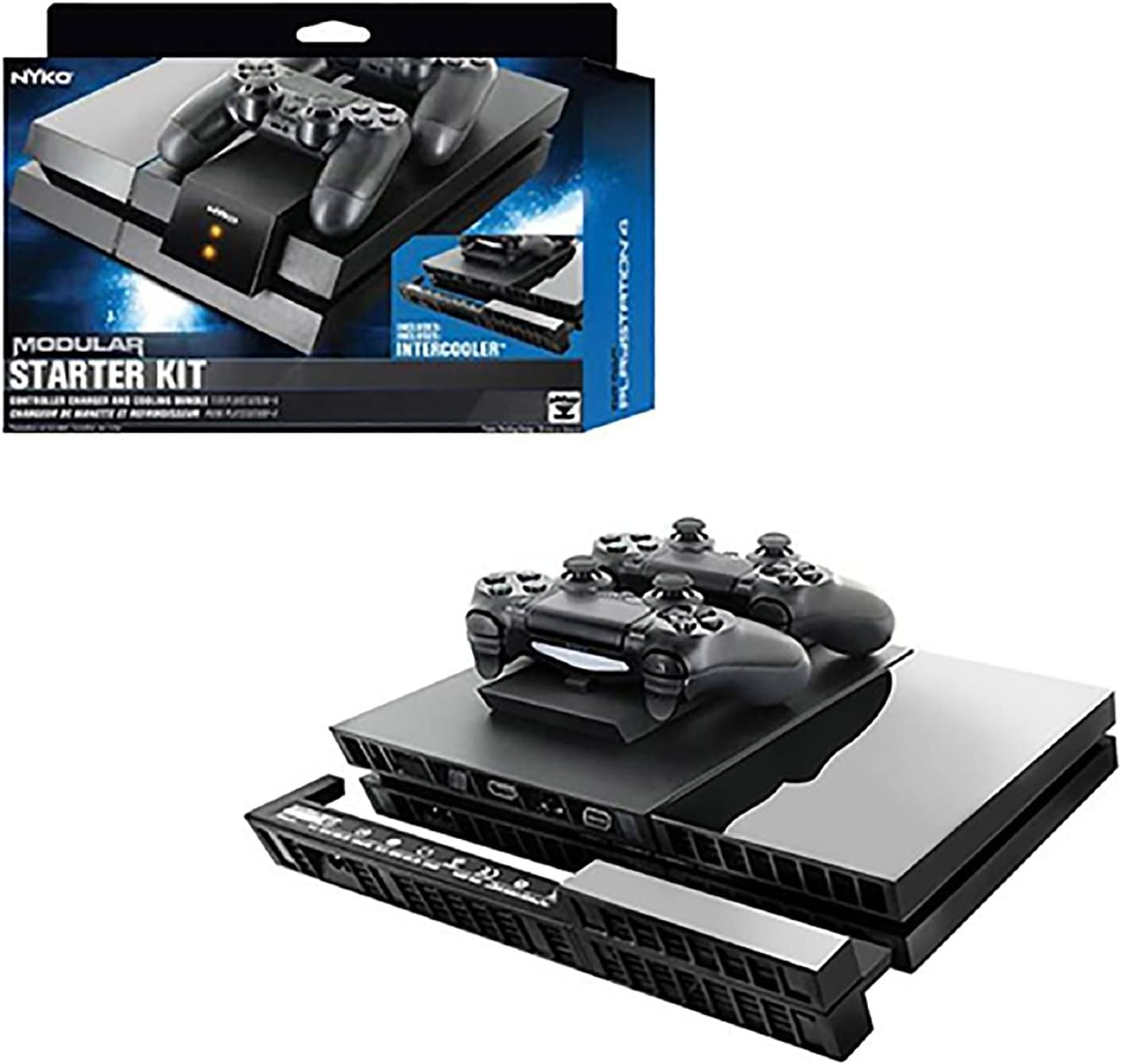 Playstation 4 controller Charger and Intercooler bundle (Nyko) by Nyko: Amazon.es: Electrónica