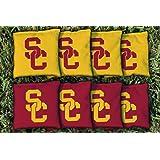 8 USC Trojans Regulation Corn Filled Cornhole Bags