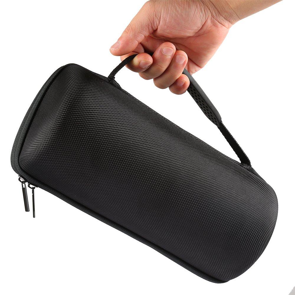 Poschell Harte Case H/ülle Reise Tasche f/ür Bose SoundLink Revolve Bluetooth Lautsprecher