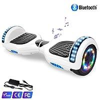 "WATSON 6,5"" Elektro Scooter Self Balance Board, Bluetooth, LED,EU Sicherheitsstandard, Model EL-ES01"