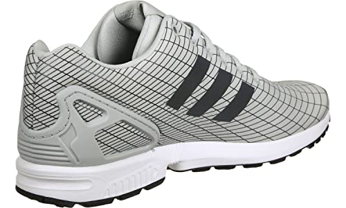 015f016c0 adidas Mens Originals Men's ZX Flux Trainers in Grey - UK 11: Amazon ...
