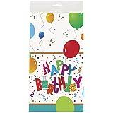 Unique Party 27173 - Tovaglia Plastificata di Compleanno 'Jamboree', 213 cm x 137 cm