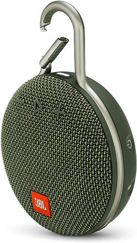 JBL Clip 3 Portable Waterproof Wireless Bluetooth Speaker – Forest Green