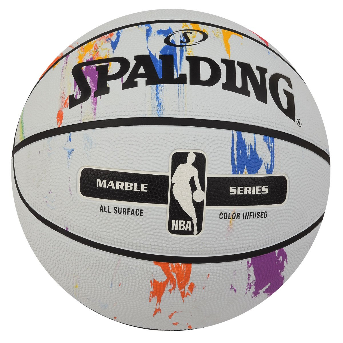 Spalding大理石製バスケットボール – 公式サイズと重量NBA。 B07B1FBRYK