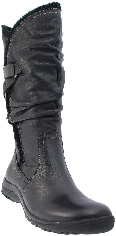 e69d1227abd6 Earth Spirit Augusta Ladies Calf Length Black Boots 18067 (UK 6)   Amazon.co.uk  Shoes   Bags