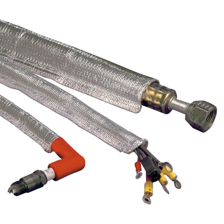 36 DEI 010420 1.5 Aluminized Sleeving Heat Sheath