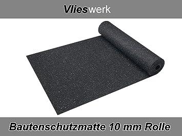 1,25 m x 2,5 m Antivibrationsmatte6 Bautenschutzmatte 6 mm Gummimatte