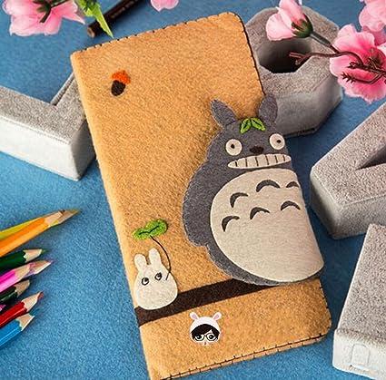 Amazon.com: bricolaje kits de niña Totoro cartera de fieltro ...
