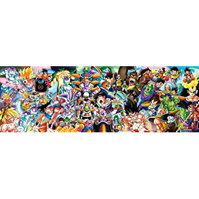 950-piece jigsaw puzzle DRAGONBALL Z CHRONICLESI (34x102cm): Juguetes y juegos