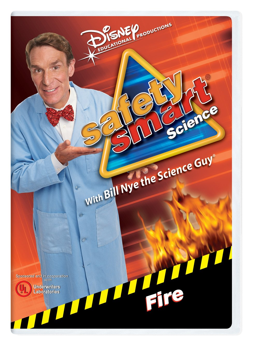 Safety Smart Science with Bill Nye the Science Guy: Fire Classroom Edition [Interactive DVD]