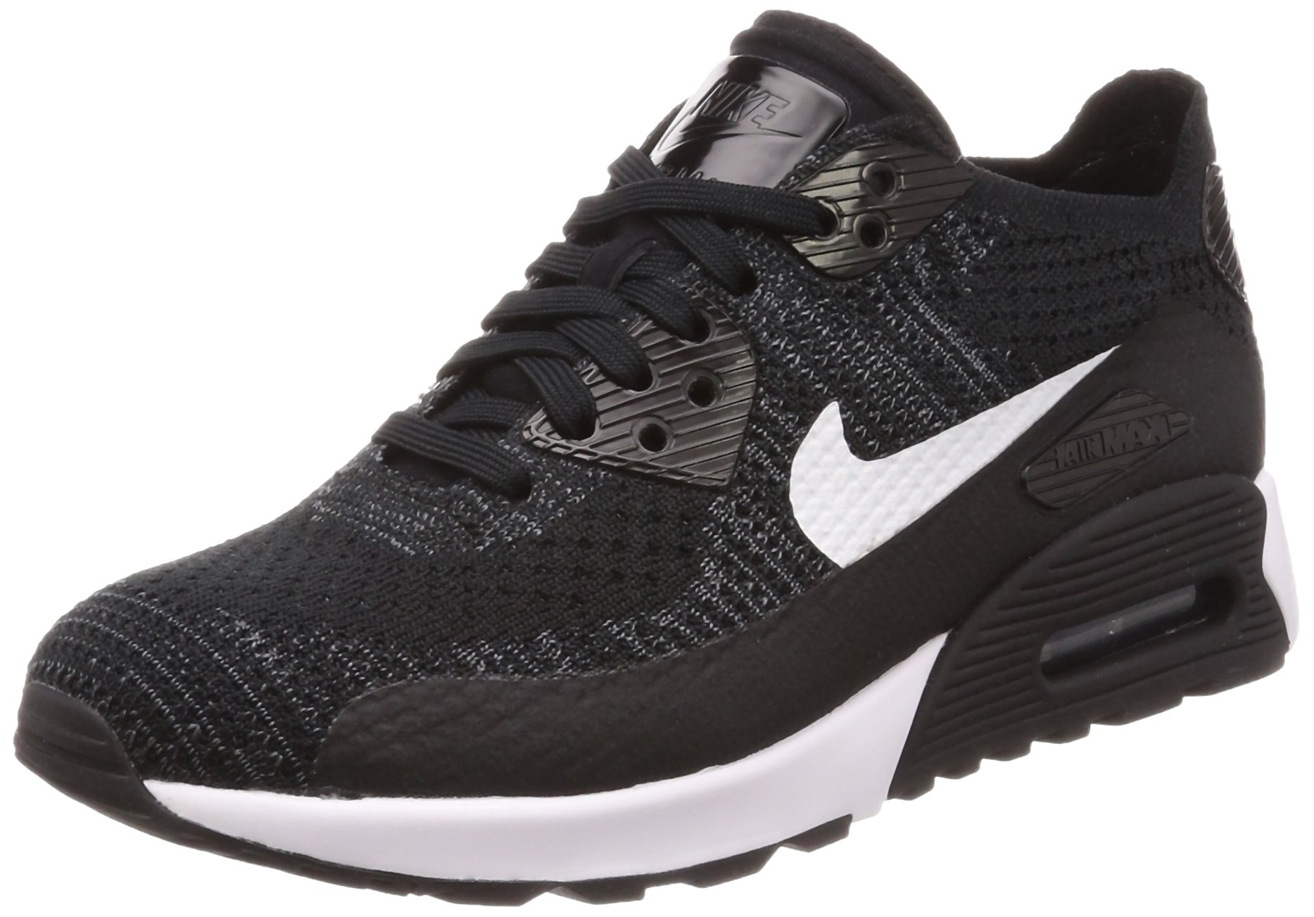 buy popular bc2c8 82ad6 Galleon - NIKE Women s Air Max 90 Ultra 2.0 Flyknit Black White 881109-004  (Size  6)