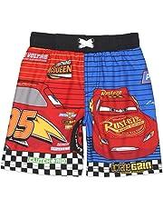 4b695d12c0 Disney Cars 3 Lightning McQueen Boy's Swim Trunks Swimwear (Little Kid/Big  ...