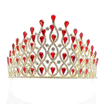 Beautiful Vintage Crystal Tiara Clear Rhinestone Crystal Crown 16th Birthday Party Silver Tiara ~ Halloween ~ Prom