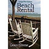 Beach Rental (Large Print) (Grace Greene's Large Print Books)