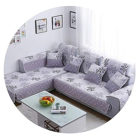 No Buy No Bye - Funda para sofá esquinero en Forma de L ...