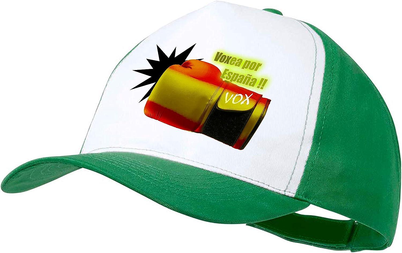 MERCHANDMANIA Gorra Verde VOXEA por ESPAÑA Color Cap: Amazon.es: Deportes y aire libre