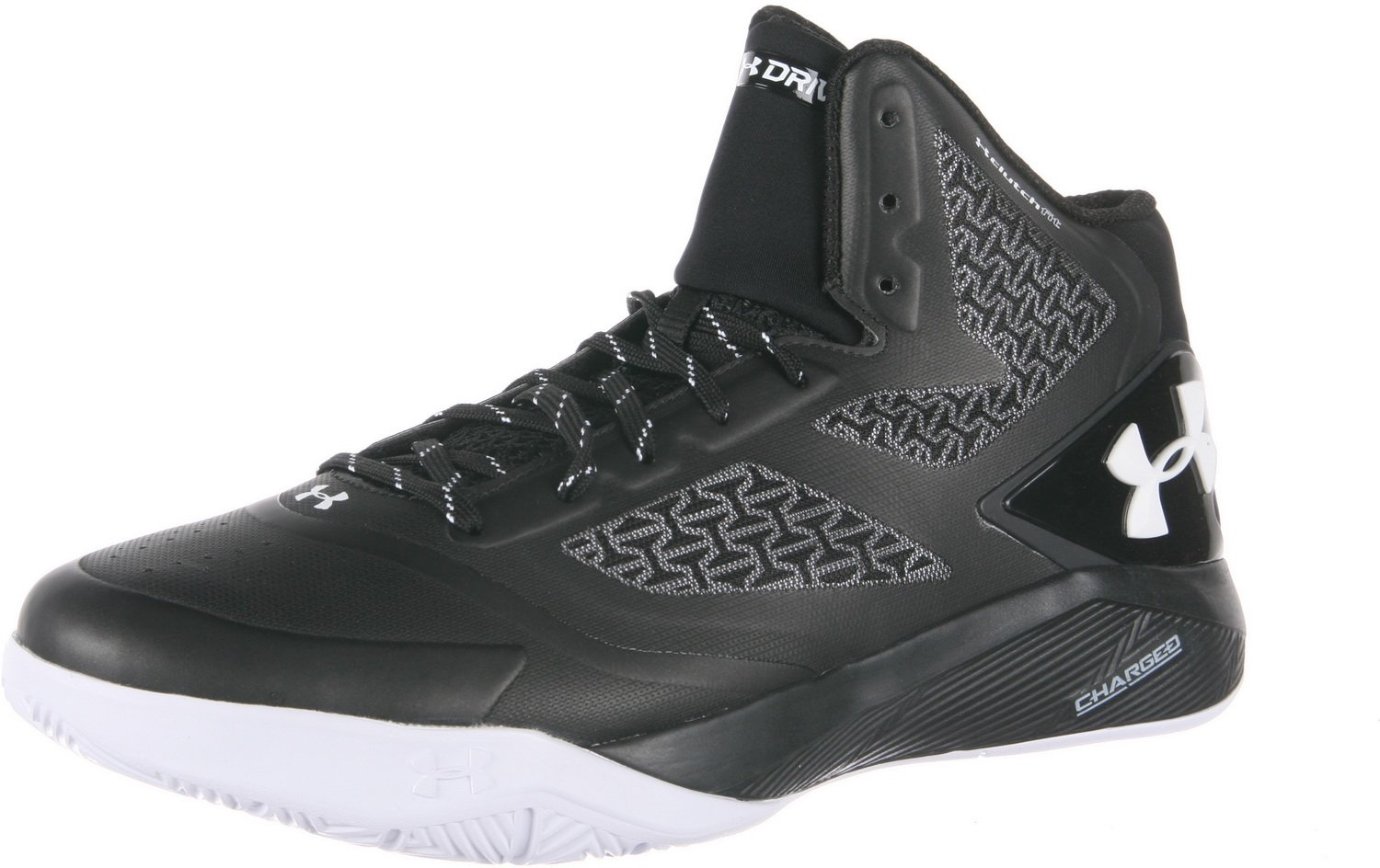 Under Armour Men's Ua ClutchFit Drive Ii B00SLOPAFM 4 D(M) US|Black/White