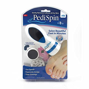 Amazon Pedi Spin Electronic Foot Callus Removal Kit As Seen On