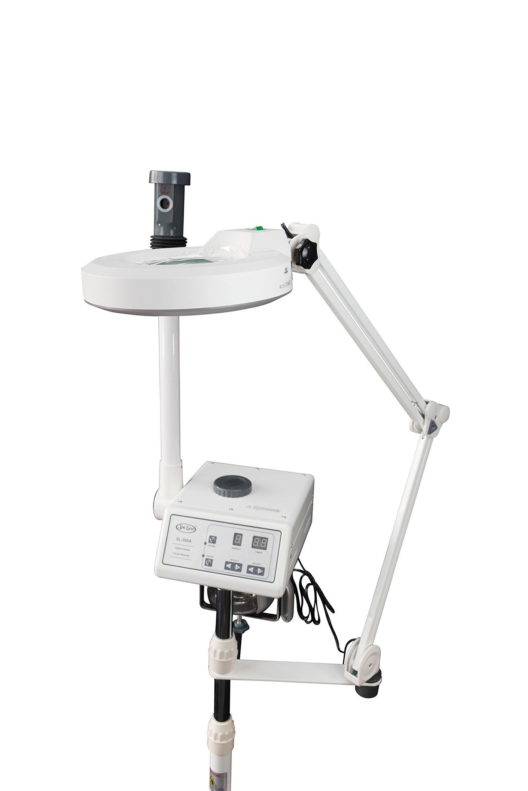 2 in 1 Digital Facial Steamer and LED Magnifying Lamp Combo - NEW by Spa Luxe (Image #4)